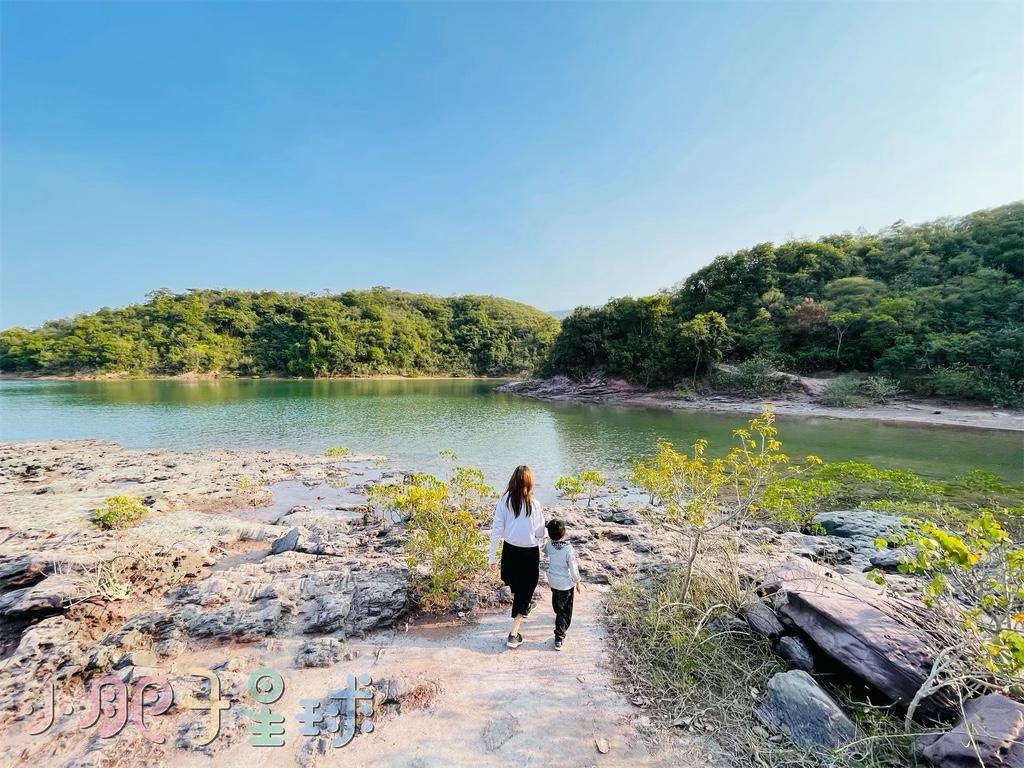 【印洲塘海岸公園】翠綠海水x絕美仙景